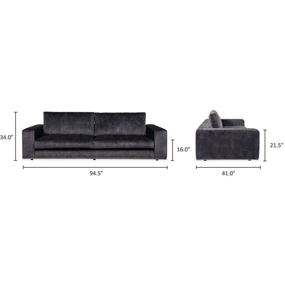 Imagine Large Sofa, Anthracite