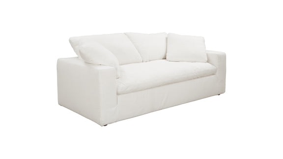 (PRE-ORDER) Movie Night Sofa, White Linen - Image 2