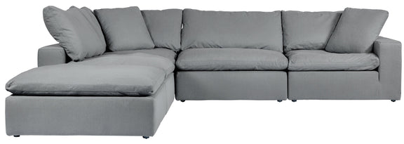 (PRE-ORDER) Movie Night 5-Piece Modular Sectional, Gentle Rain