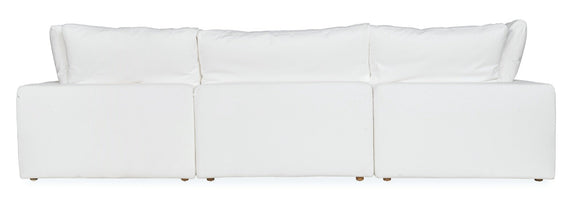Movie Night 4-Piece Modular Sectional, Brie - Image 3