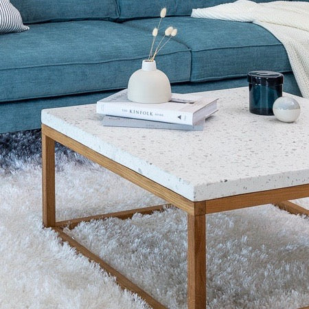 Balance Square Coffee Table, Nougat - Image 2