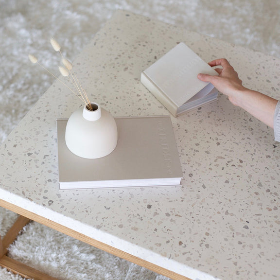 Balance Coffee Table, Nougat - Image 2
