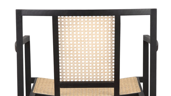 (PRE-ORDER) Tomo Dining Chair, Black Ash - Image 6