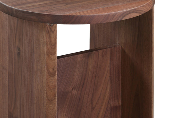 Field Stool, American Walnut - Image 5