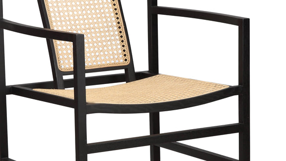 (PRE-ORDER) Tomo Dining Chair, Black Ash - Image 5