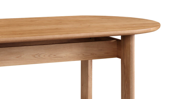 Track Dining Table, White Oak - Image 6