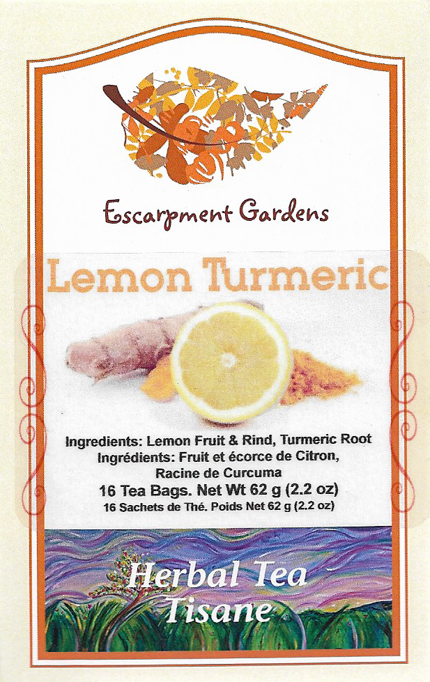 Lemon Turmeric Herbal Tea