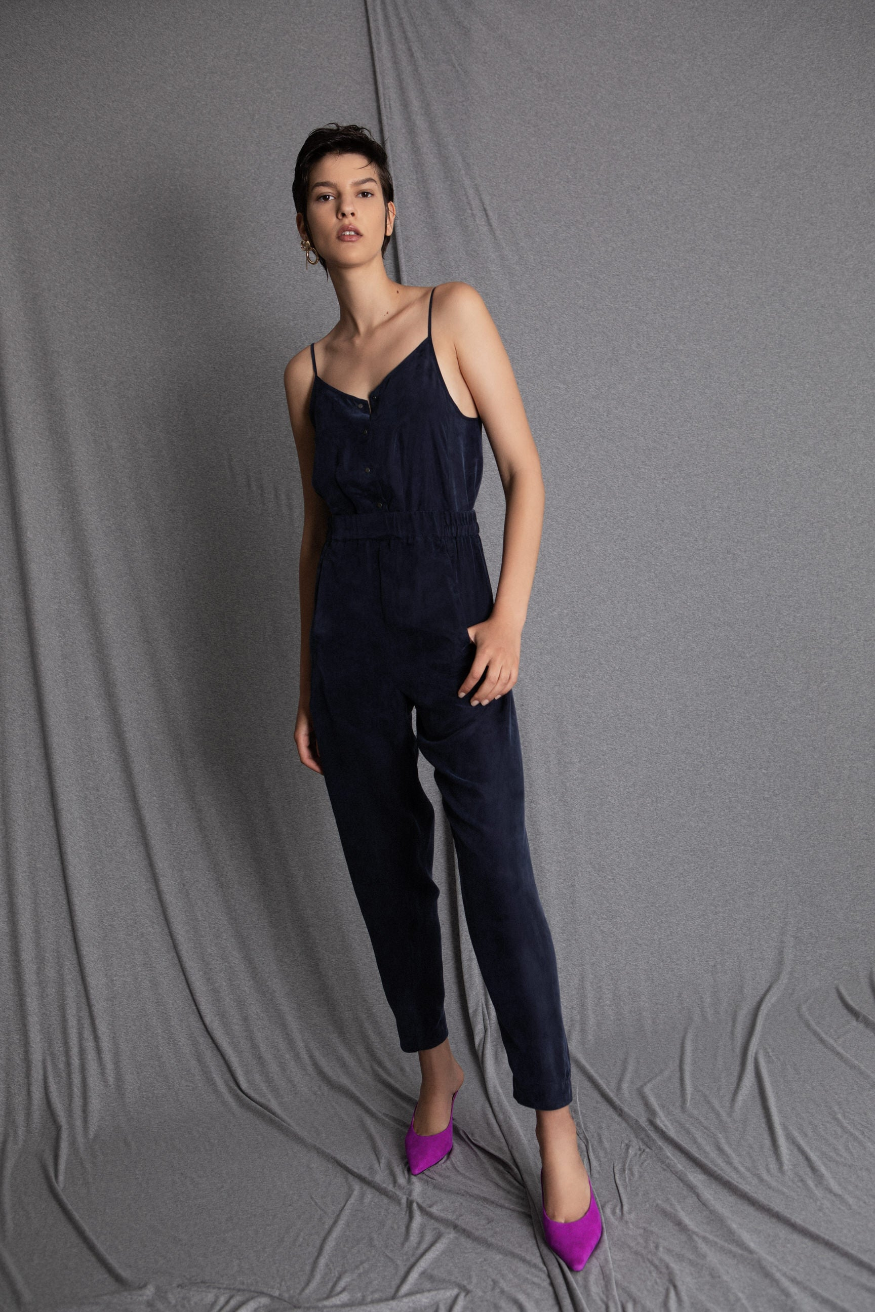 BILLY navy jumpsuit - heroic-online