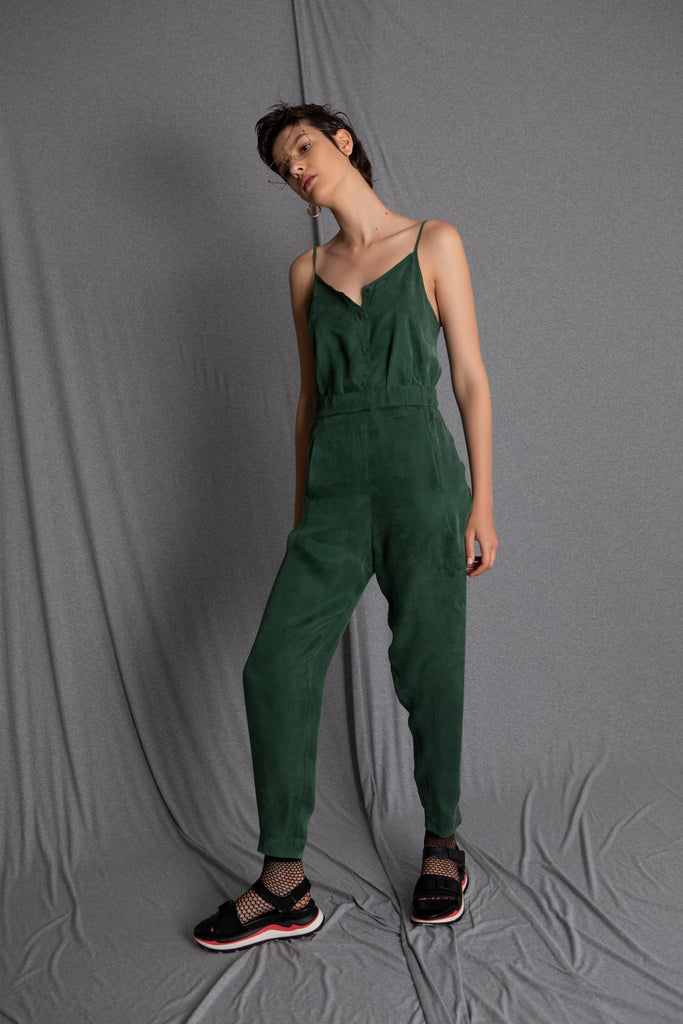 BILLY green jumpsuit - heroic-online