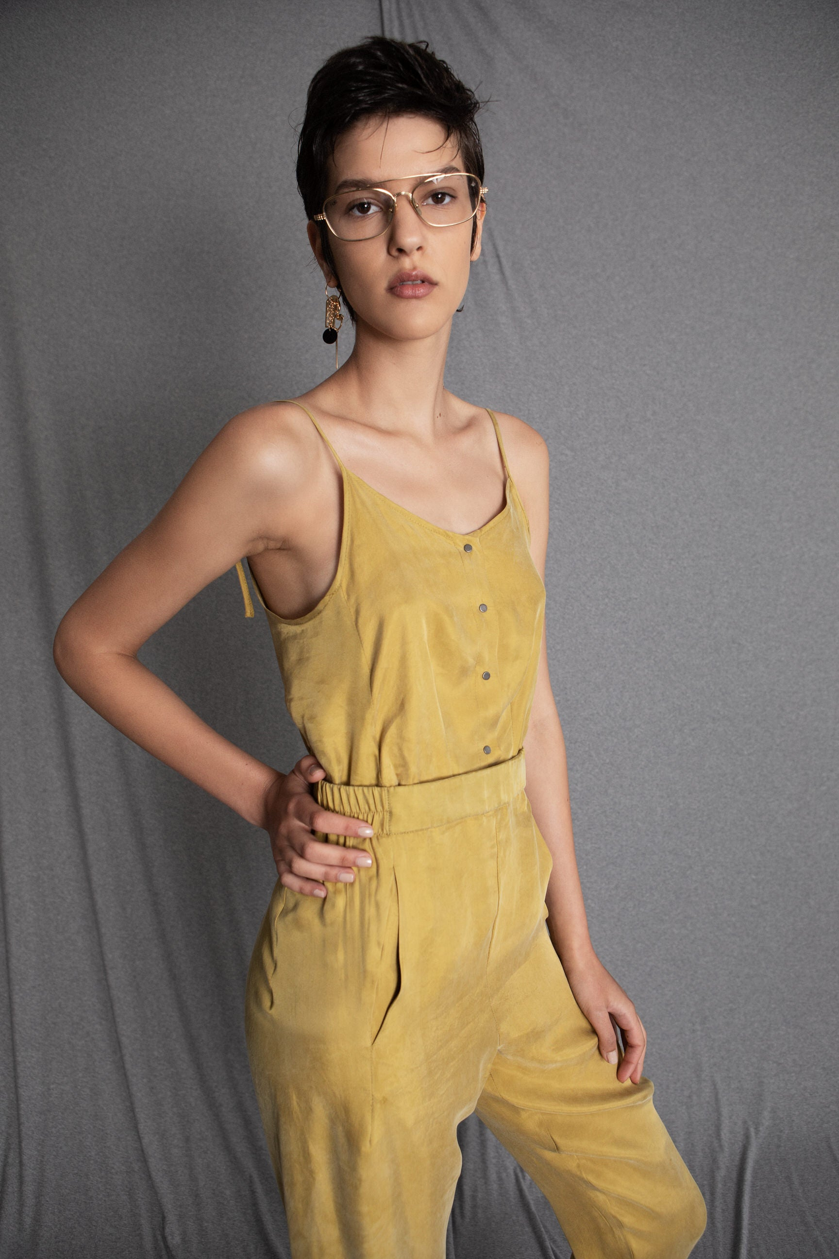 BILLY yellow jumpsuit - heroic-online