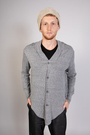 SHIVER gray cardigan - heroic-online