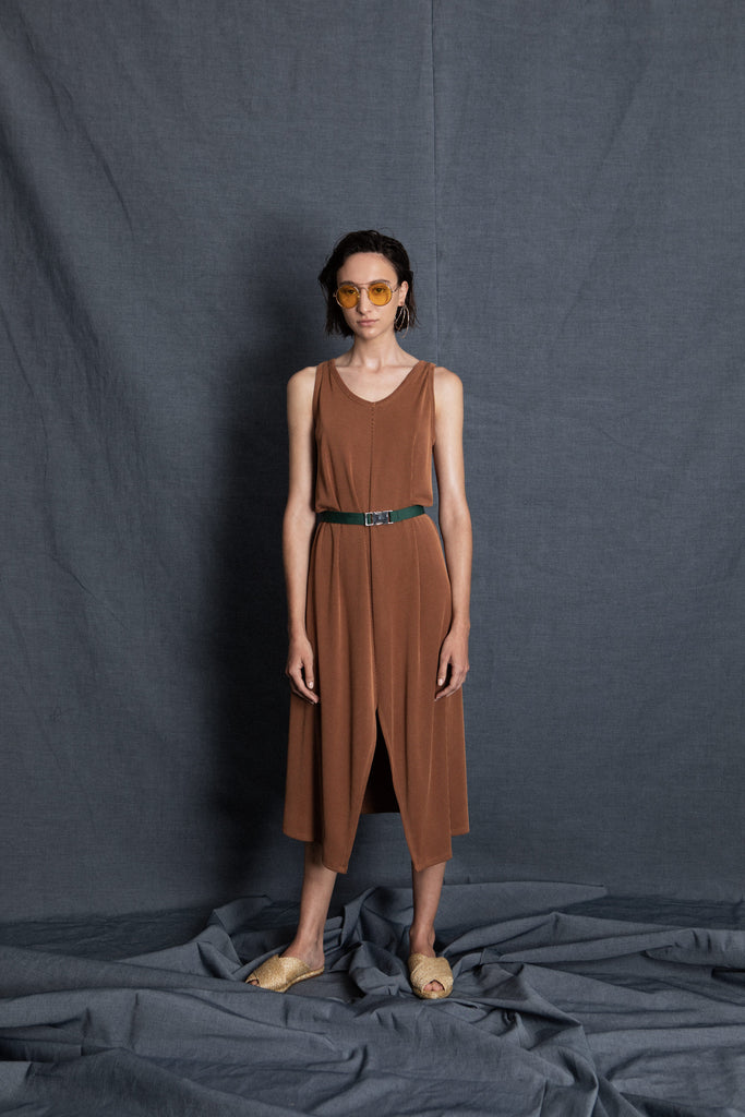 Sweet camel dress - heroic-online