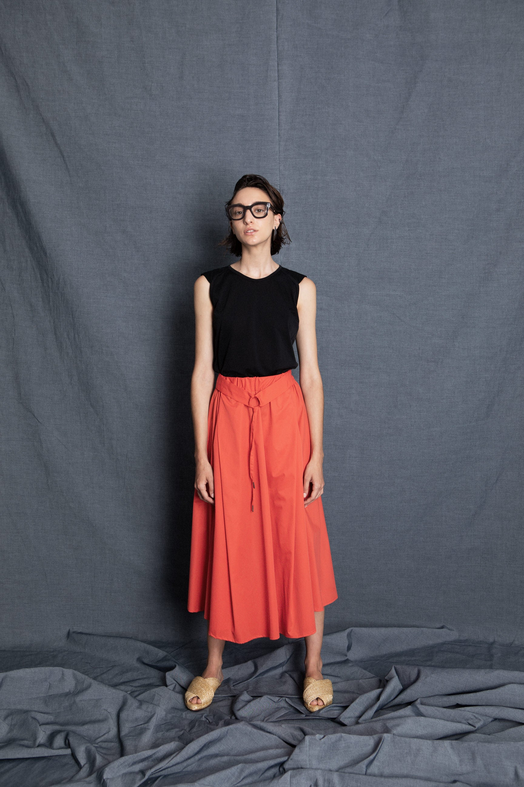 Tuty red/orange skirt - heroic-online