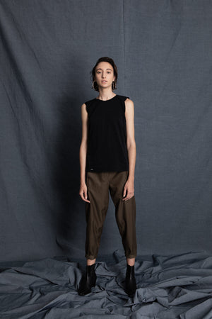 Peach dark green top - heroic-online