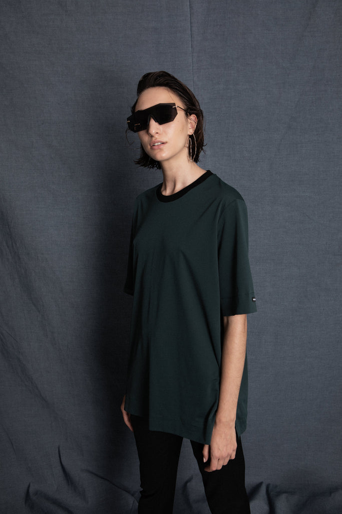 Tom dark green top - heroic-online