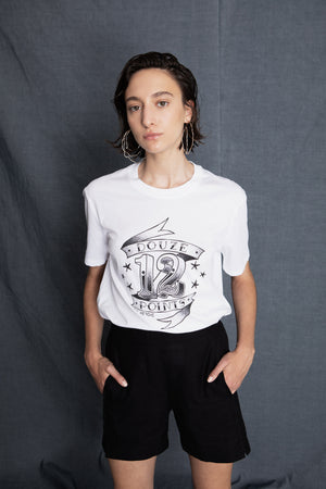 Douze points white t-shirt - heroic-online