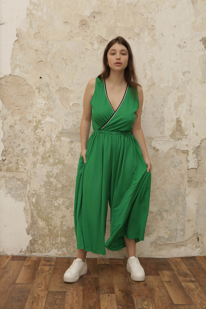 SPIN jumpsuit - green - heroic-online