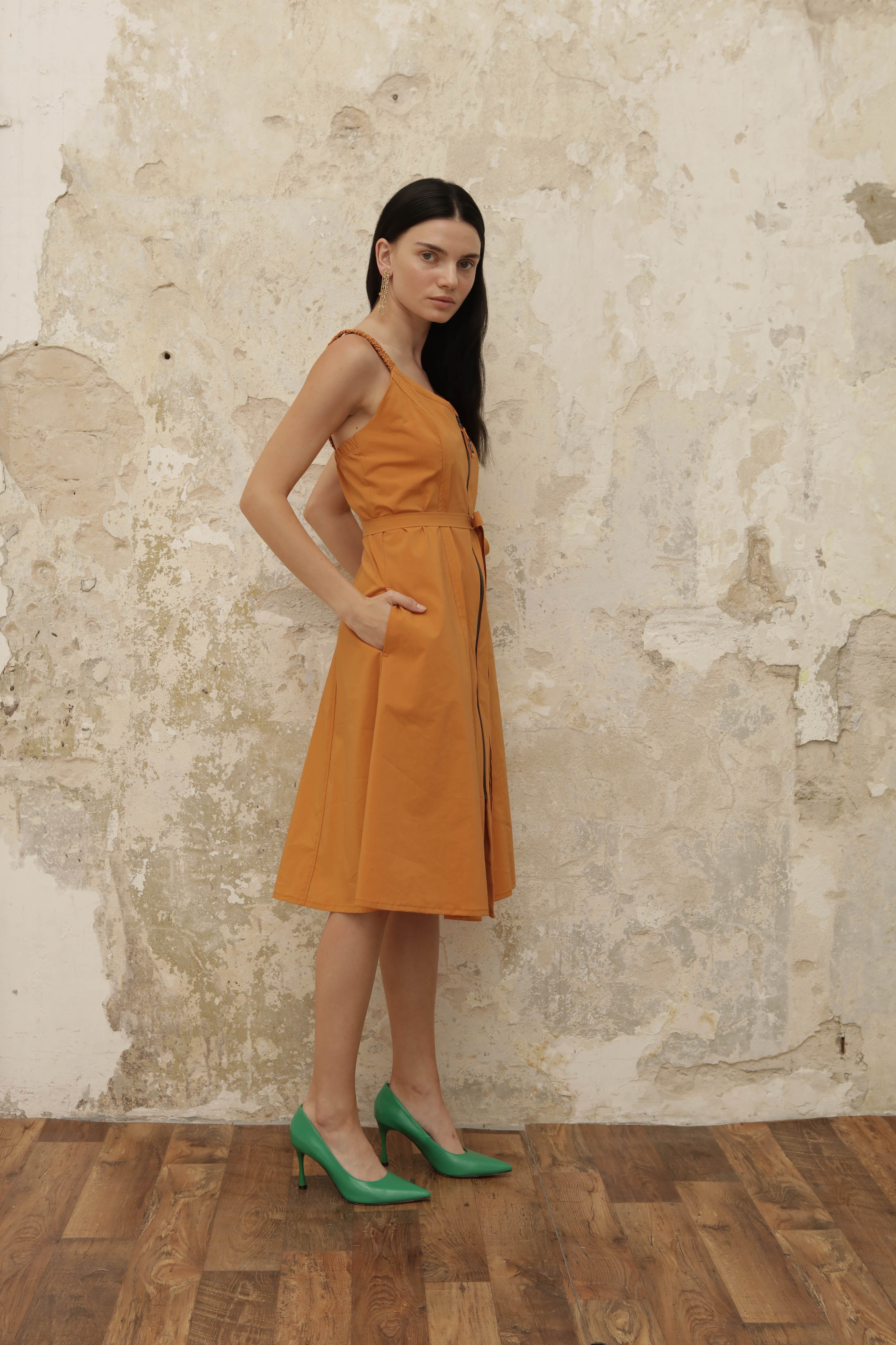 Soul dress - orange - heroic-online