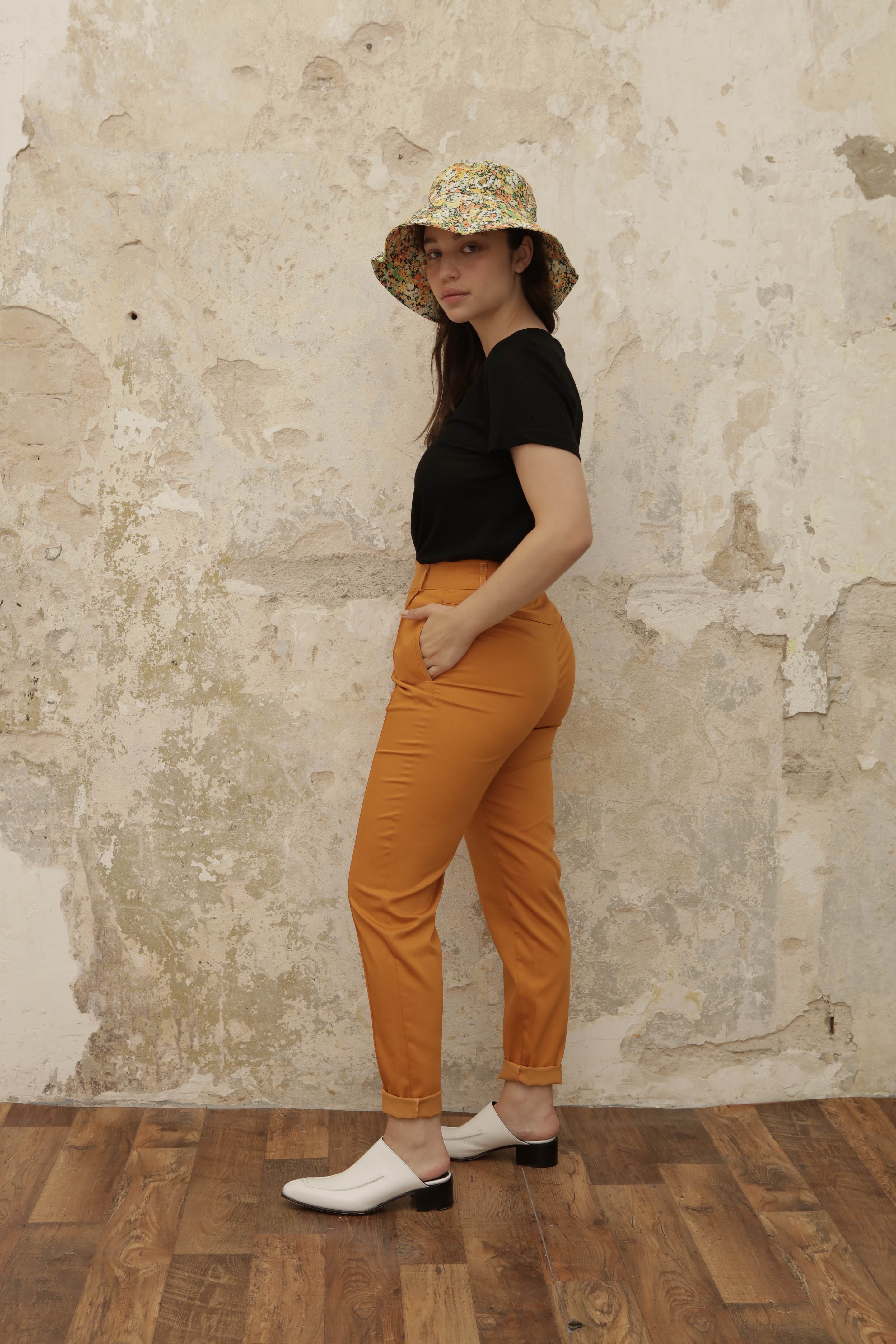 BUDDY pants - orange - heroic-online
