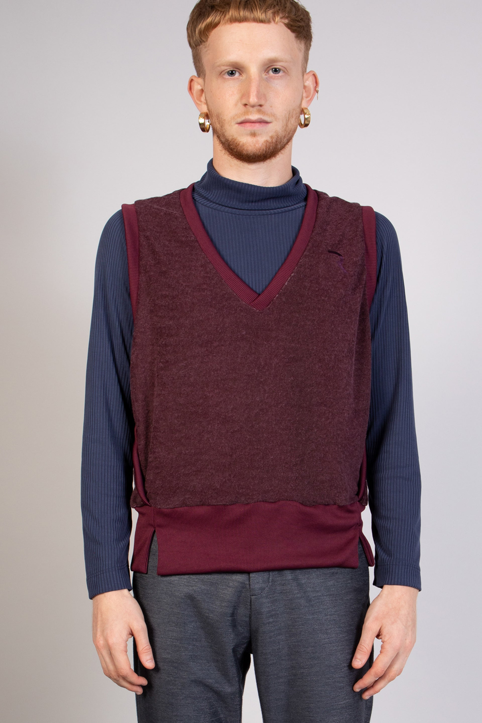 PAUL bordo sweater - heroic-online
