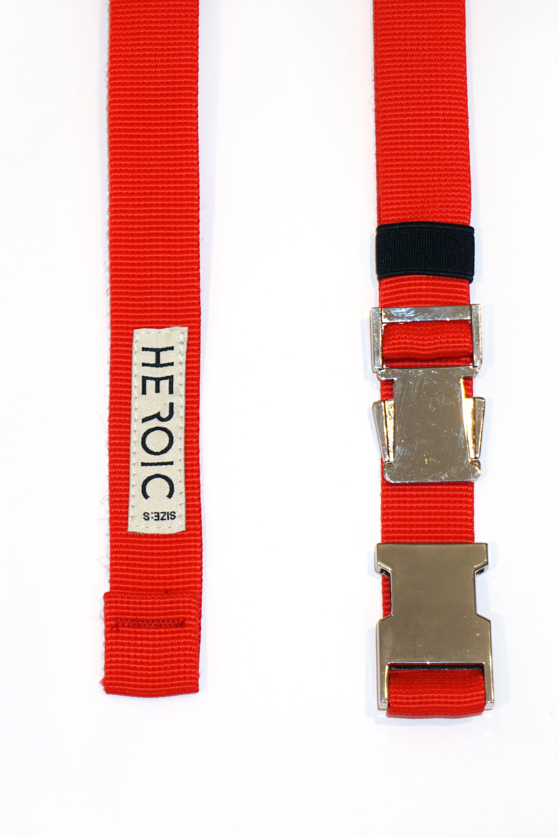 Webbing red belt - heroic-online
