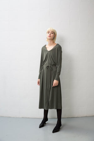 GOODIES Dress - dark green - heroic-online
