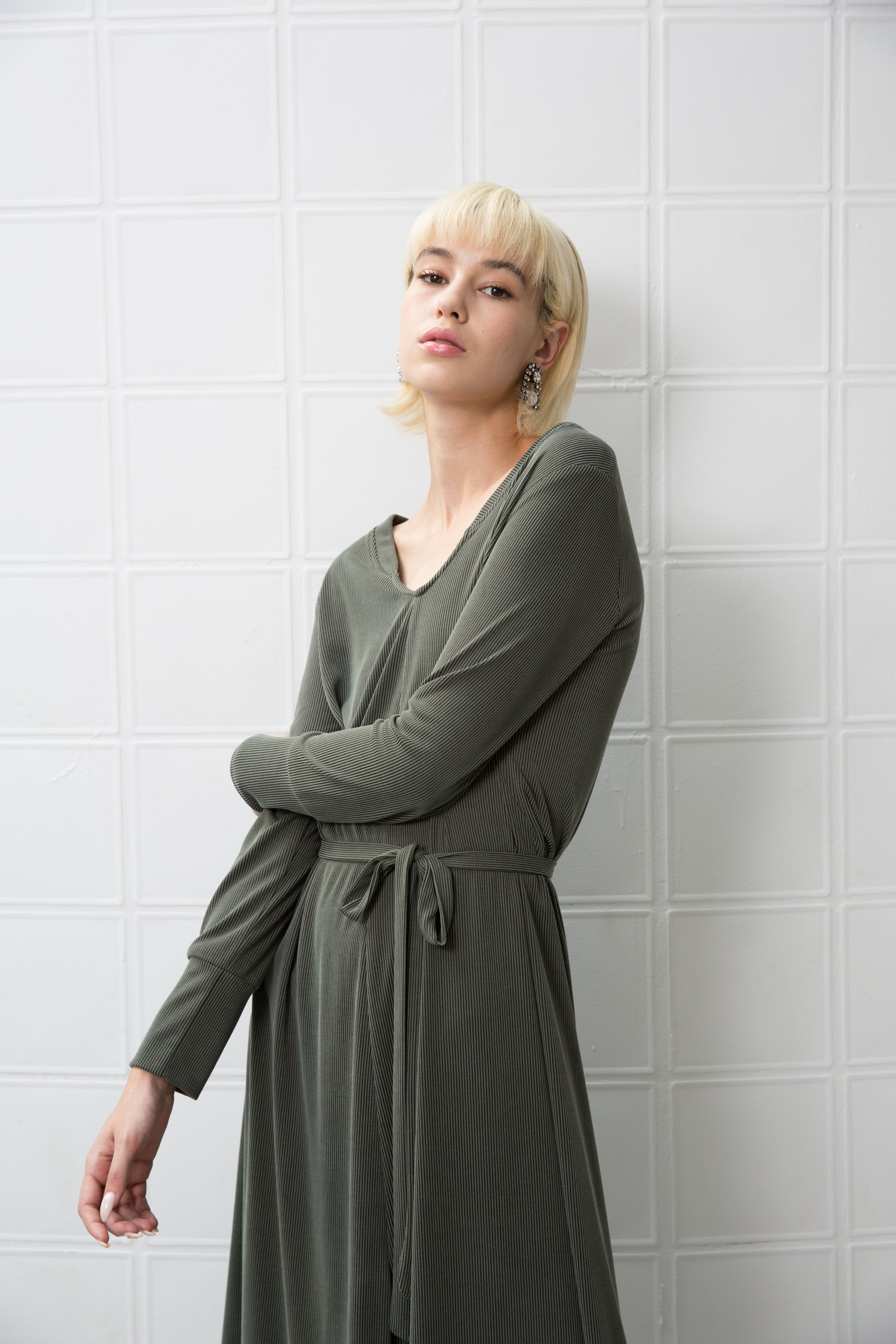 GOODIES Dress - dark green