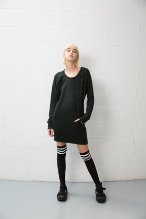 CLARIS Dress - dark green - heroic-online