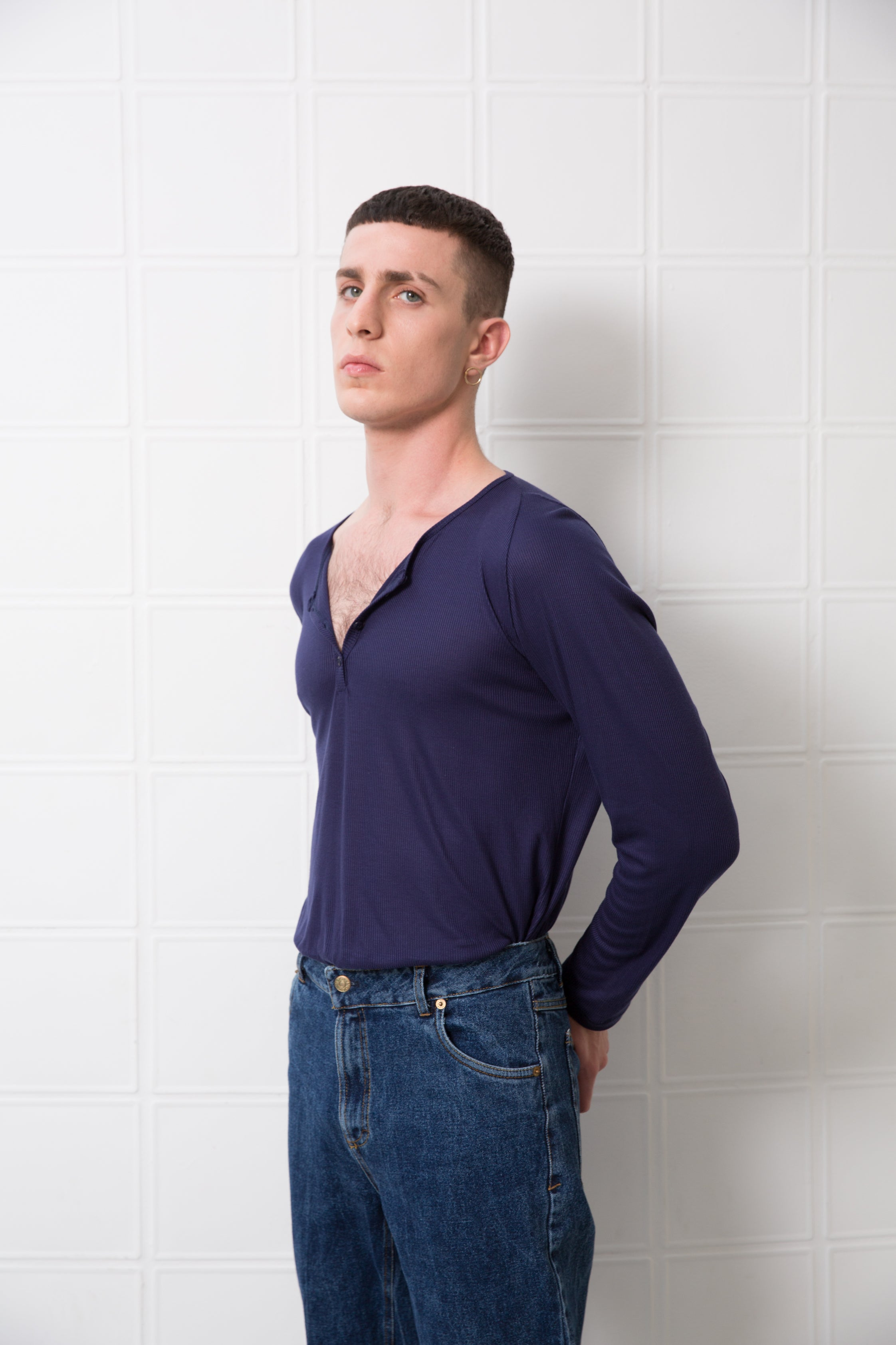 MOBY Top - dark purple - heroic-online