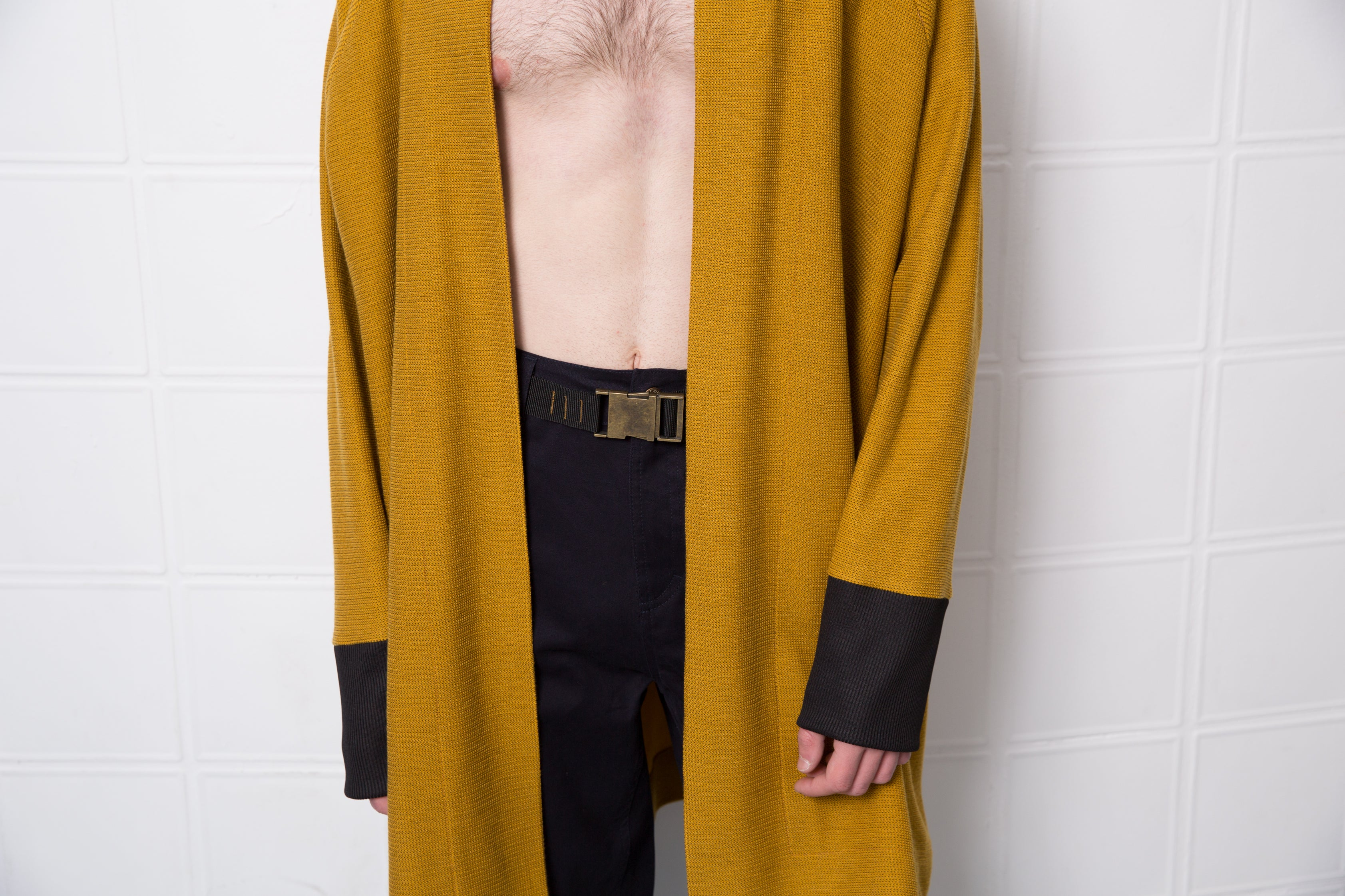 PERRY Cardigan - mustard yellow - heroic-online