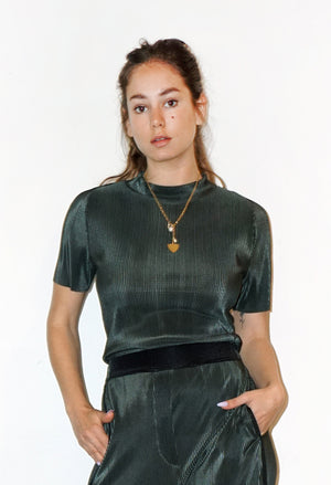 MARCEL Top - bottle green - heroic-online