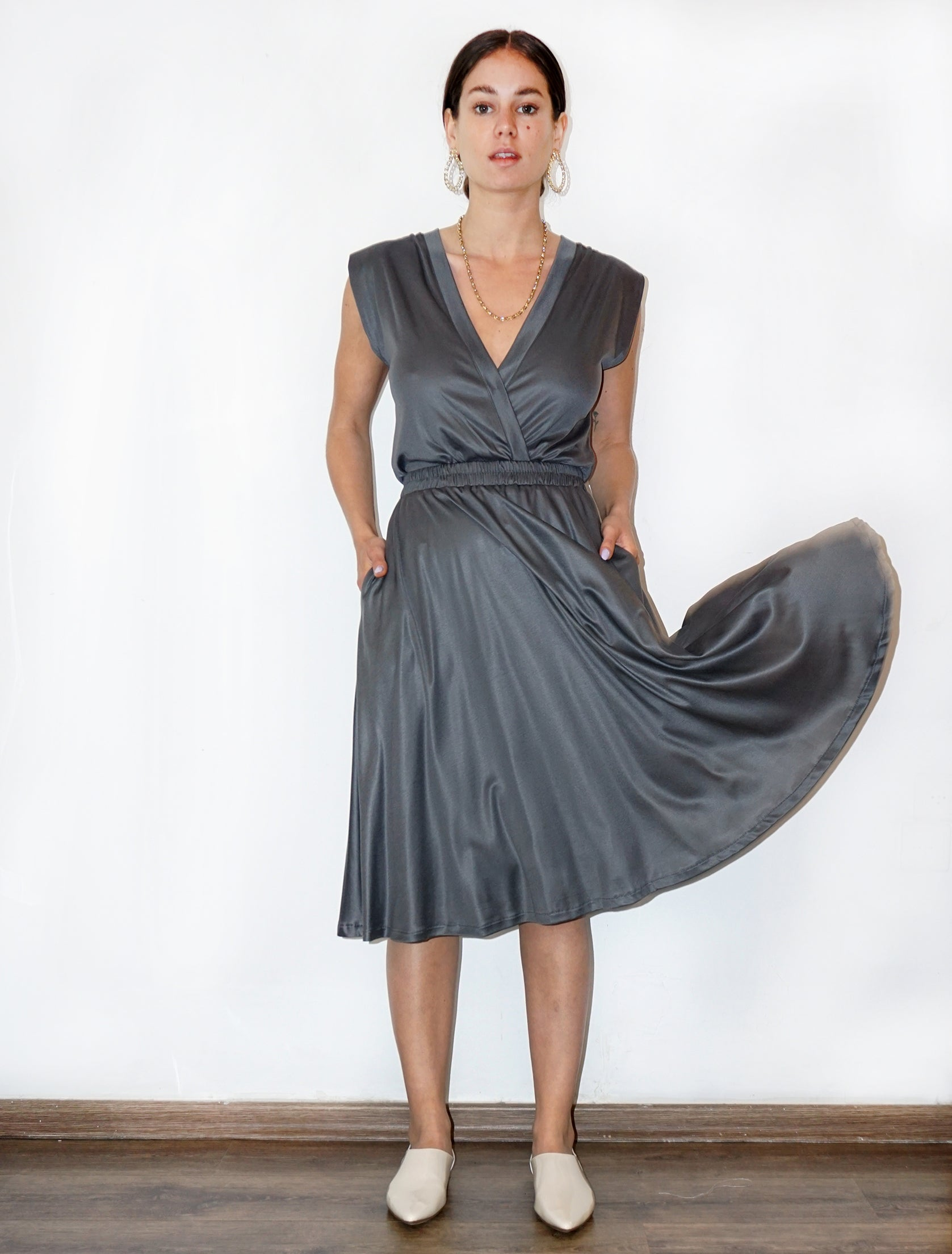 DOLLY Dress - gray - heroic-online