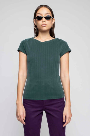 JESSY t-shirt bottle green