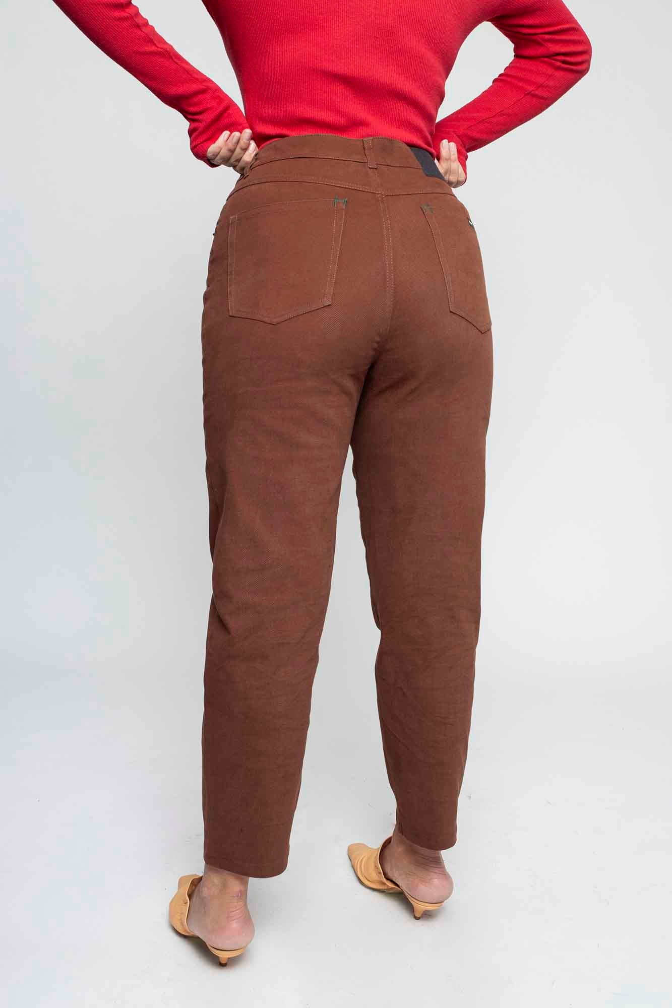 LENNY pants brown