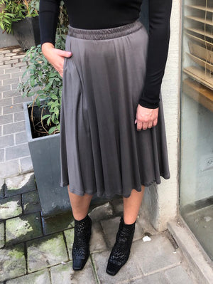 DOLLY skirt gray
