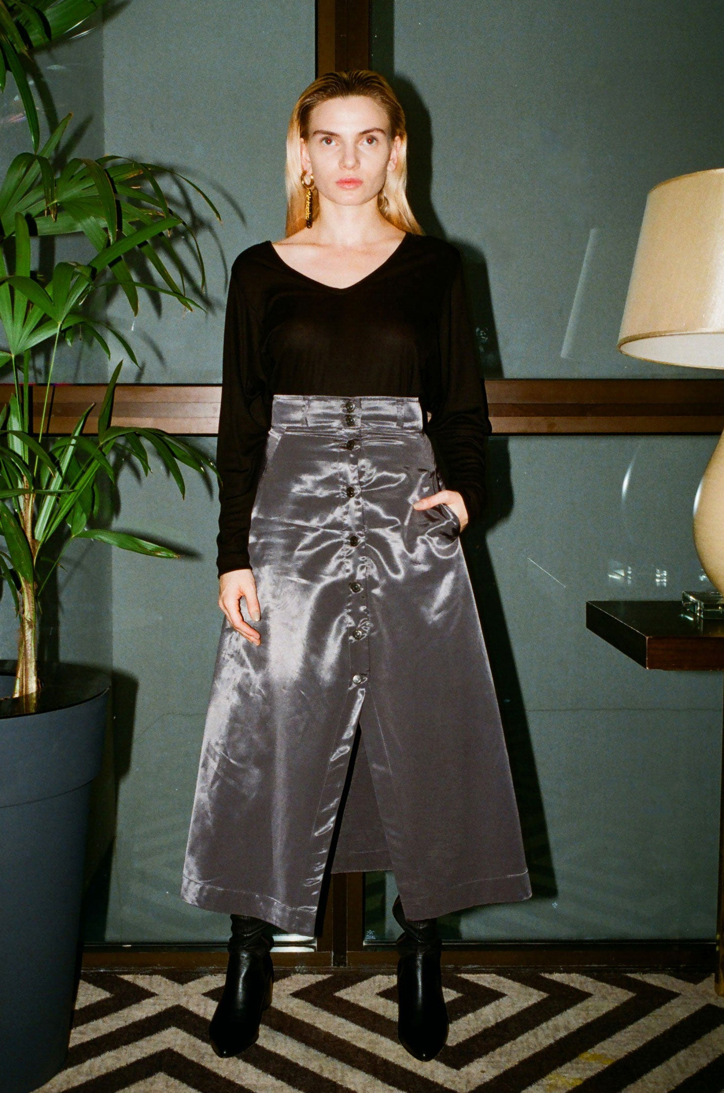 LUCY gold skirt - heroic-online