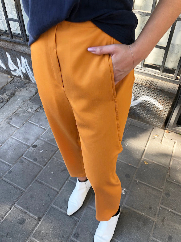 MAXIM pants light orange