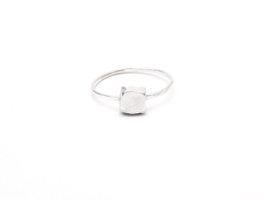 Silver Prism Ring (Small) 'Orígenes'