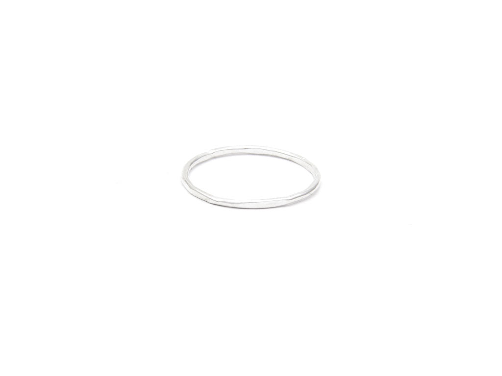 Simple Silver Ring 'Orígenes'
