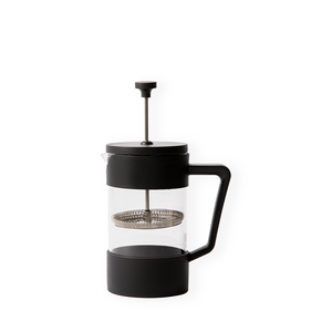 BREW Coffee Plunger - 350ml Black