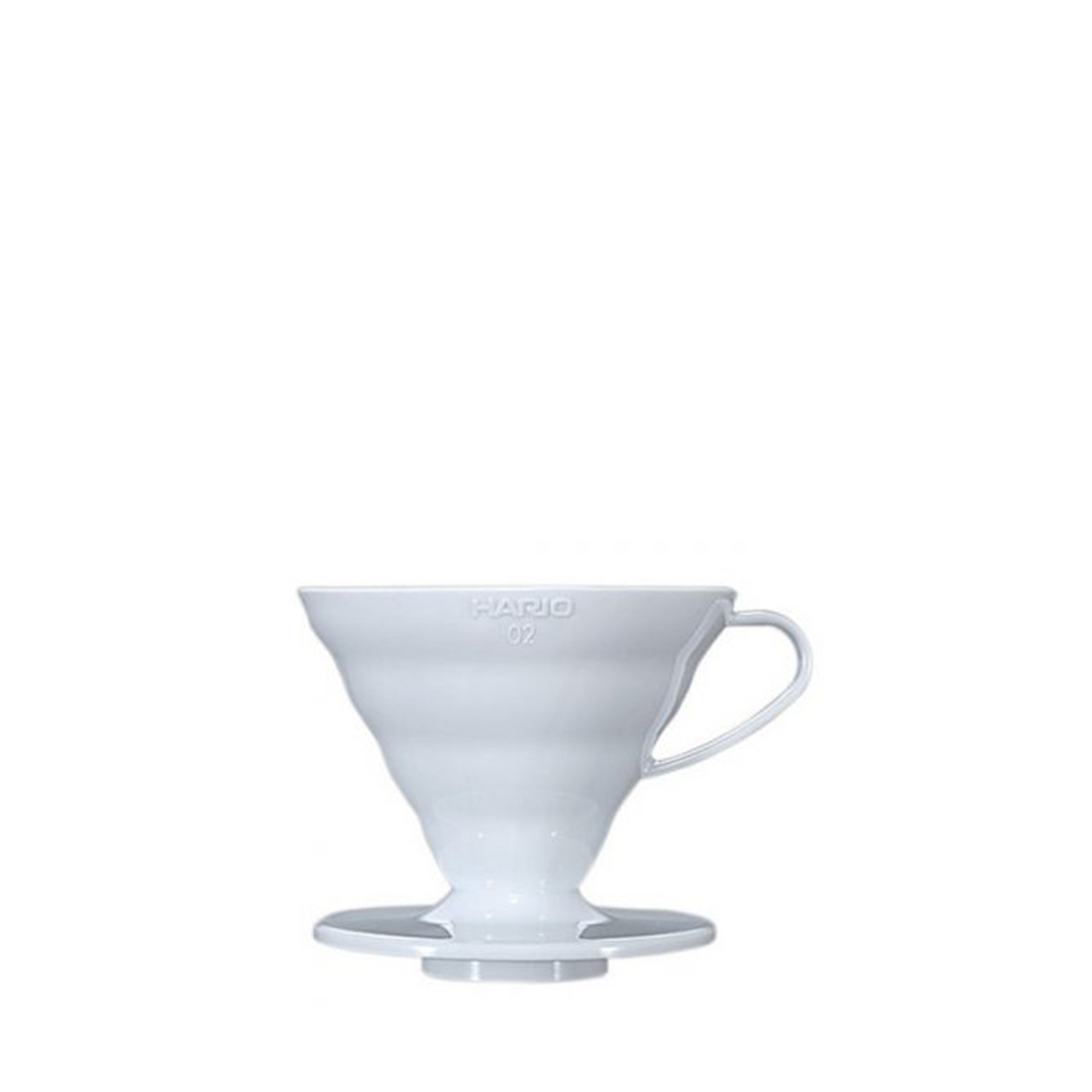 Hario V60 Ceramic Dripper 2 Cup - White