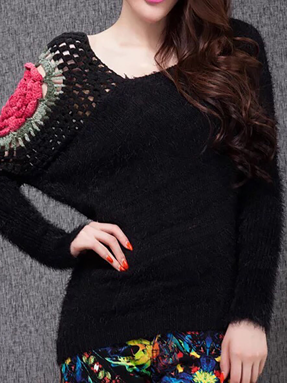 Casual Shift Sweater Top