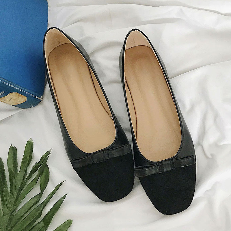 Women Flocking Loafers Casual Comfort Slip On Shoes