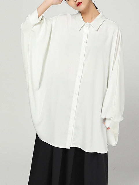 Casual Shirt Collar Long Sleeve Shirts & Tops