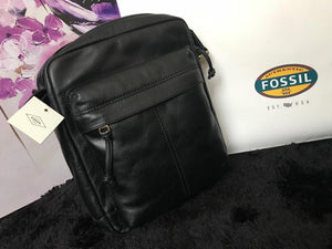 Fossil Sling bag - Black - mystic-beauty-international-make-up-store