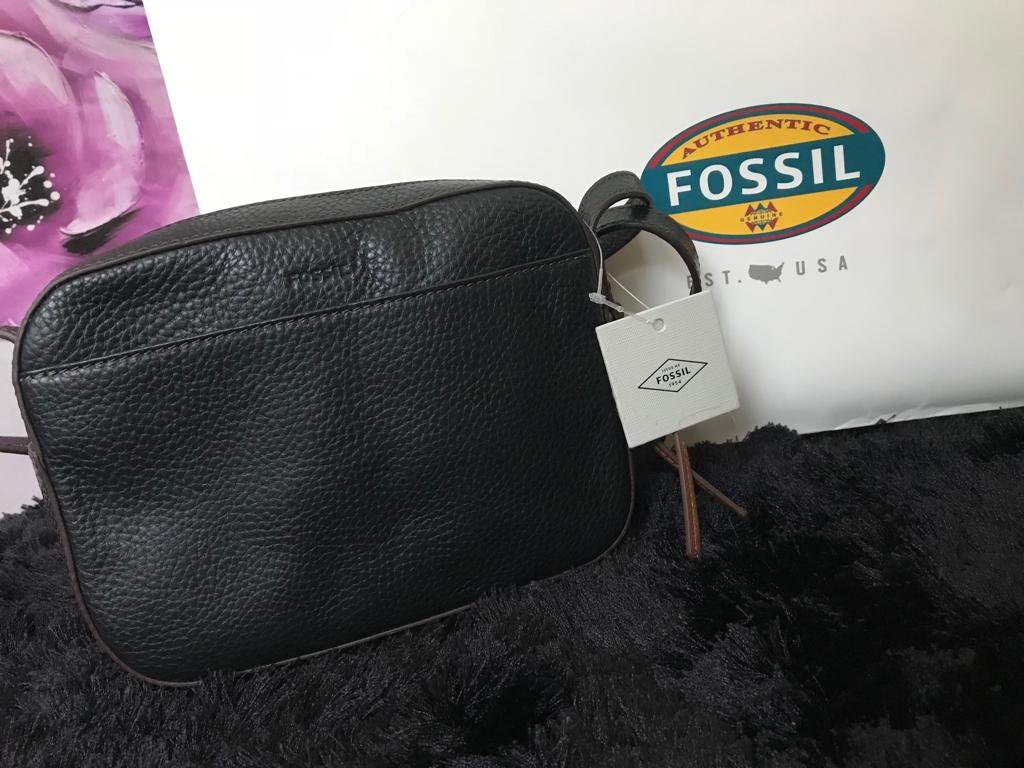 Fossil Handbag - Black - mystic-beauty-international-make-up-store