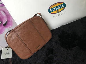 Authentic Brown Fossil Handbag -Genuine Leather-Mystic Beauty SA online Store