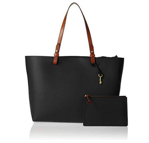 Fossil Rachael Tote Handbag - Black - mystic-beauty-international-make-up-store