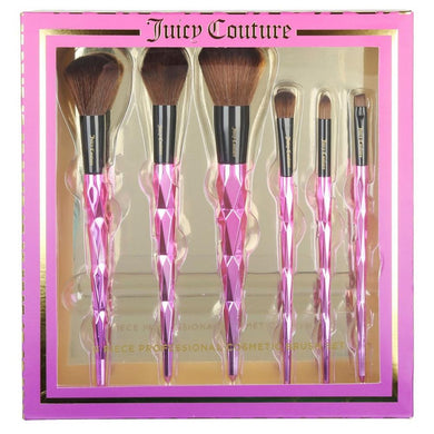Juicy Couture 6 Piece Professional Makeup Brush Set - mystic-beauty-international-make-up-store