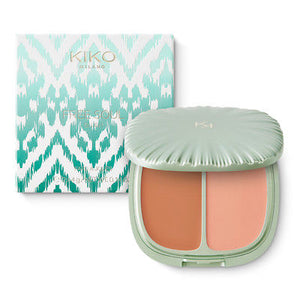 Kiko Milano - Free Soul Blush AND Highlighter - Coral Vibes - mystic-beauty-international-make-up-store